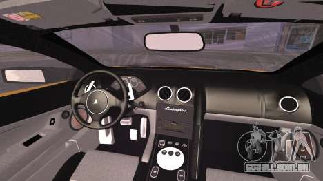 Lamborghini Murcielago 2005 Yuno Gasai IVF para GTA San Andreas vista direita