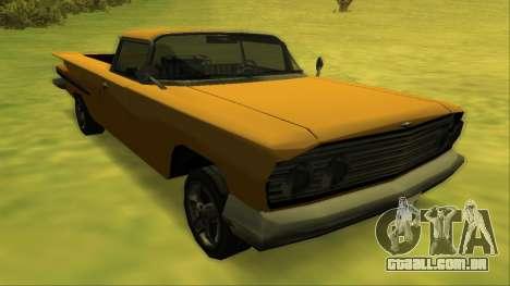 Voodoo El Camino v1 para as rodas de GTA San Andreas