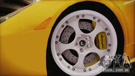 Lamborghini Murcielago 2005 Yuno Gasai IVF para GTA San Andreas traseira esquerda vista