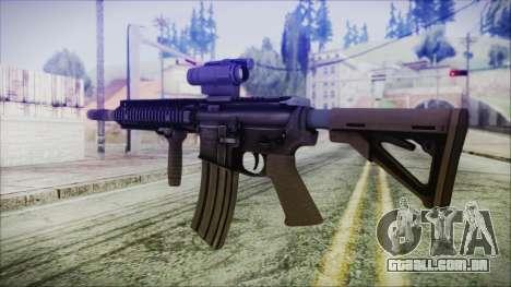 MK18 SEAL para GTA San Andreas segunda tela