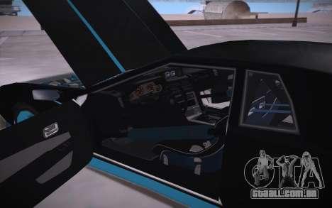 Elegy DRIFT KING GT-1 (Stok wheels) para vista lateral GTA San Andreas