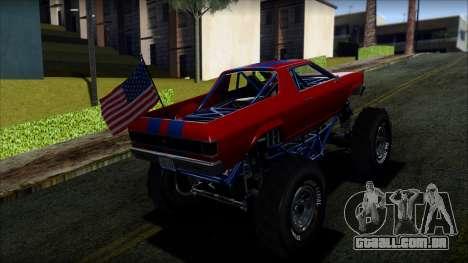GTA 5 Cheval Marshall IVF para GTA San Andreas esquerda vista