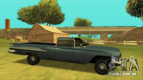 Voodoo El Camino v1 para GTA San Andreas esquerda vista