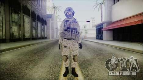 CODE5 Afghanistan para GTA San Andreas segunda tela