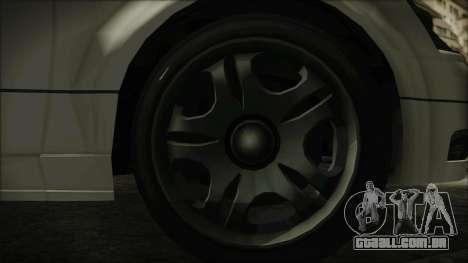GTA 5 Karin Intruder IVF para GTA San Andreas traseira esquerda vista