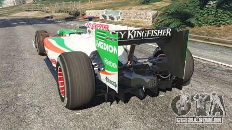 Force India VJM03 para GTA 5