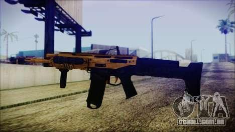 Bushmaster ACR Gold para GTA San Andreas segunda tela