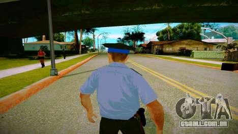 O funcionário do Ministério da Justiça v2 para GTA San Andreas por diante tela