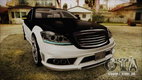 Carlsson Aigner CK65 RS v2 Headlights para vista lateral GTA San Andreas