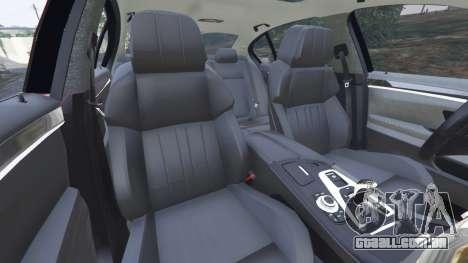 GTA 5 BMW 535i 2012 vista lateral direita