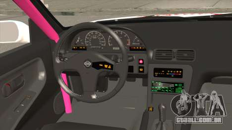 Nissan 240SX Pony Power para GTA San Andreas vista interior