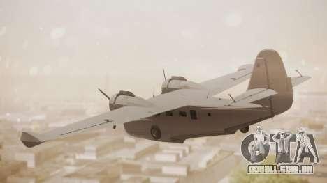 Grumman G-21 Goose Paintkit para GTA San Andreas esquerda vista