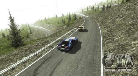 Stelvio Pass Drift Track para GTA San Andreas