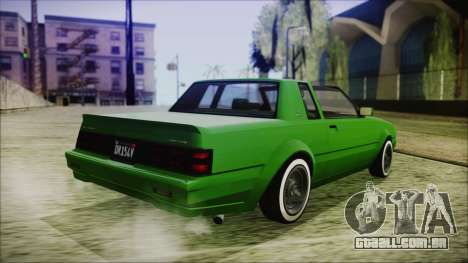 GTA 5 Willard Faction Custom para GTA San Andreas esquerda vista