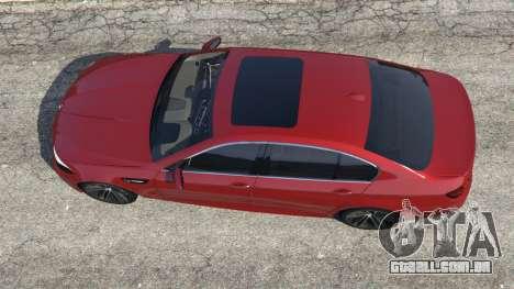 GTA 5 BMW 535i 2012 voltar vista
