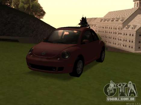 VW New Beetle 2004 Tunable para GTA San Andreas
