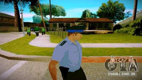 O funcionário do Ministério da Justiça v2 para GTA San Andreas terceira tela