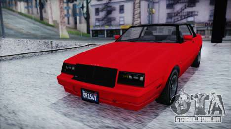 GTA 5 Willard Faction IVF para GTA San Andreas vista direita