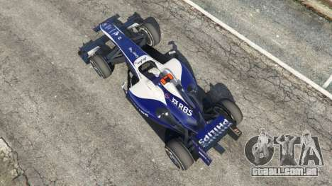 GTA 5 Williams FW32 voltar vista