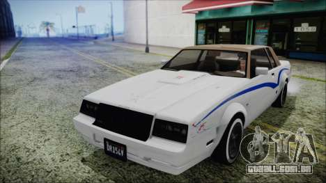 GTA 5 Willard Faction Custom para vista lateral GTA San Andreas