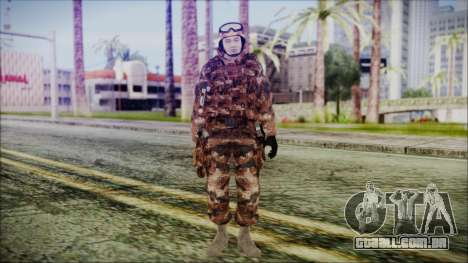 Chinese Army Desert Camo 3 para GTA San Andreas segunda tela