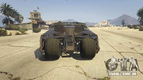 GTA 5 The Tumbler voltar vista