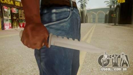 GTA 5 Knife para GTA San Andreas terceira tela