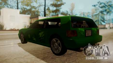 Flash FnF Skins para GTA San Andreas vista direita