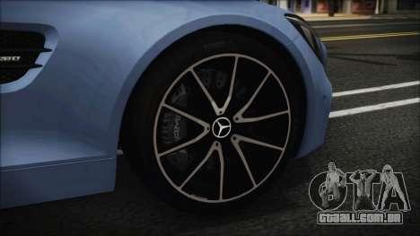 Mercedes-Benz AMG GT 2016 para GTA San Andreas traseira esquerda vista