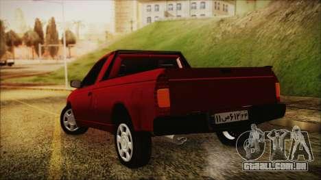 Ikco Arisun para GTA San Andreas esquerda vista