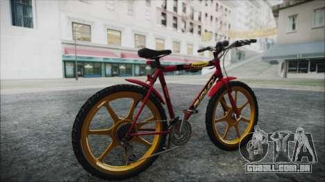 Mtbike HD para GTA San Andreas traseira esquerda vista