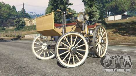 GTA 5 Daimler 1886 [wood] vista lateral direita