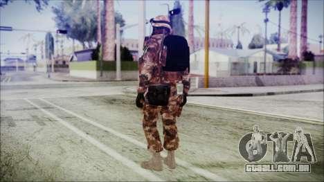 Chinese Army Desert Camo 4 para GTA San Andreas terceira tela