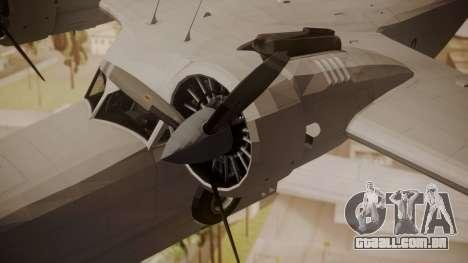 Grumman G-21 Goose Paintkit para GTA San Andreas vista direita