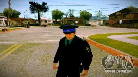 O funcionário do Ministério da Justiça v3 para GTA San Andreas