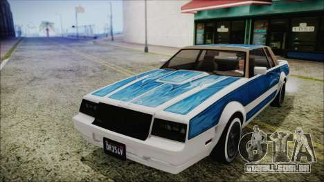GTA 5 Willard Faction Custom para GTA San Andreas vista direita