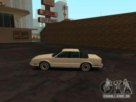 Chrysler New Yorker 1988 para GTA San Andreas esquerda vista