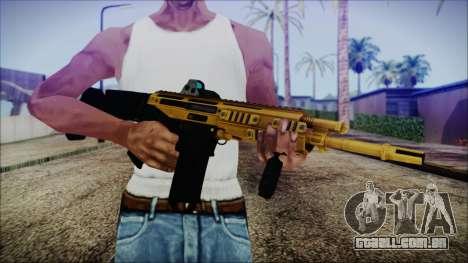 Bushmaster ACR Gold para GTA San Andreas terceira tela