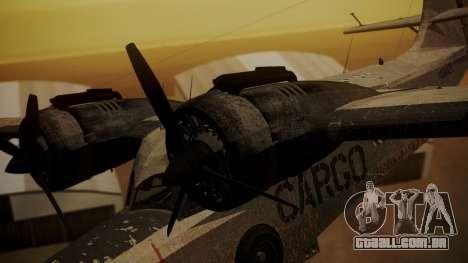 Grumman G-21 Goose N56621 Rusty para GTA San Andreas vista direita