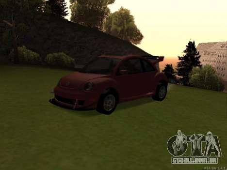 VW New Beetle 2004 Tunable para GTA San Andreas vista traseira