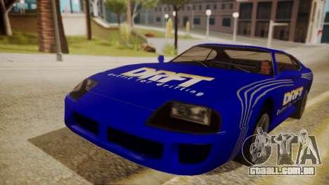 Jester FnF Skins 1 para GTA San Andreas vista traseira