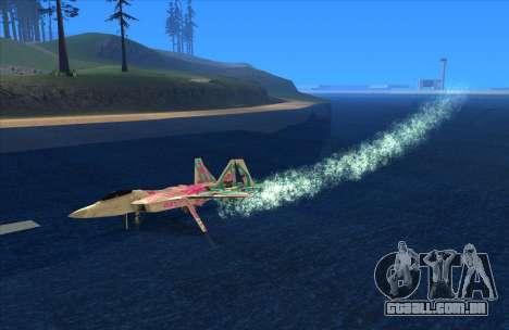 Water Effect para GTA San Andreas terceira tela