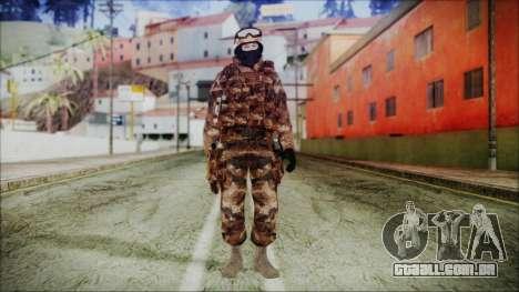 Chinese Army Desert Camo 4 para GTA San Andreas segunda tela