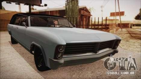 GTA 5 Albany Lurcher Bobble Version para GTA San Andreas