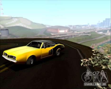 Clover Barracuda para vista lateral GTA San Andreas