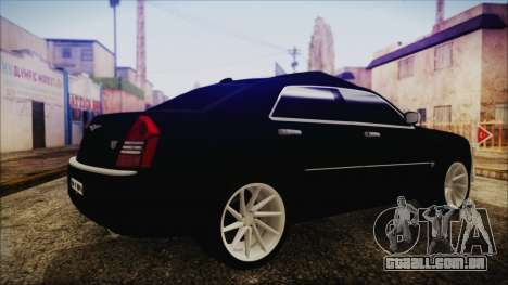 Chrysler 300С Unalturan para GTA San Andreas esquerda vista