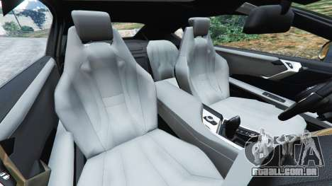 GTA 5 BMW i8 2015 vista lateral direita