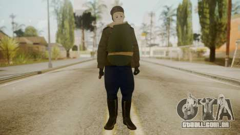 Red Army Cossack - WW2 para GTA San Andreas segunda tela
