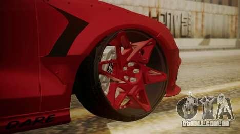 Audi RS7 X-UK L3D para GTA San Andreas traseira esquerda vista