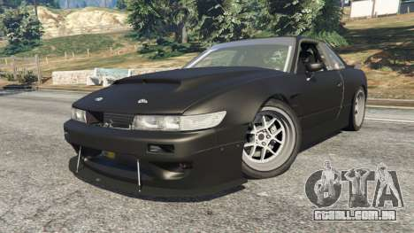 GTA 5 Nissan Silvia S13 v1.2 [without livery] vista lateral direita
